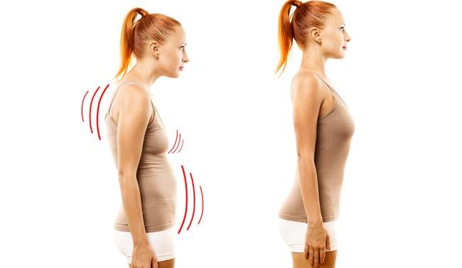 Упражнения от сутулости, для осанки, укрепления мышц в домашних условиях