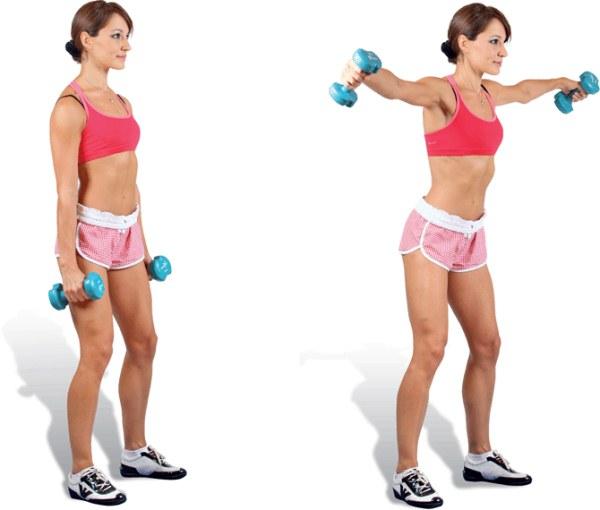 Упражнения для подтяжки обвисшей кожи рук для женщин в домашних условиях