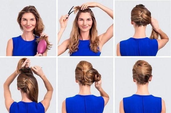 Прически на длинные волосы своими руками в домашних условиях. Пошаговые инструкция, фото