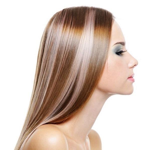 Мелирование волос – что это такое, какое модное светлое, темное мелирование на средние волосы с челкой или без. Фото