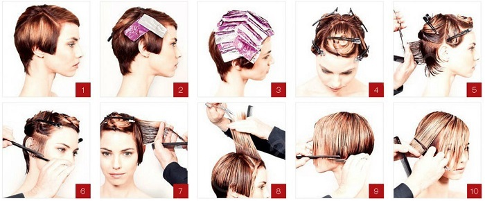 Как покрасить волосы самой себе краской и без, хной, басмой, тоником, омбре в домашних условиях
