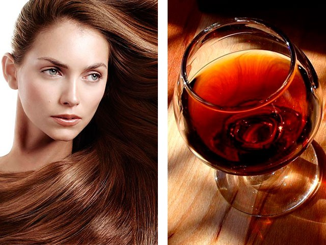 Маска для волос из коньяка в домашних условиях 345