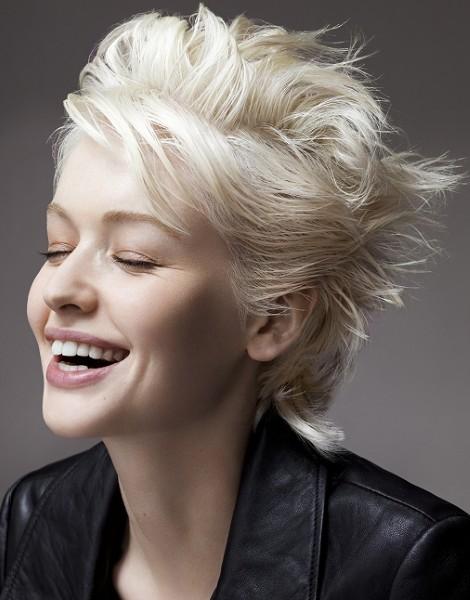 Стрижка Пикси на короткие и средние волосы для женщин. Фото, вид спереди и сзади, схема как стричь, кому подходит