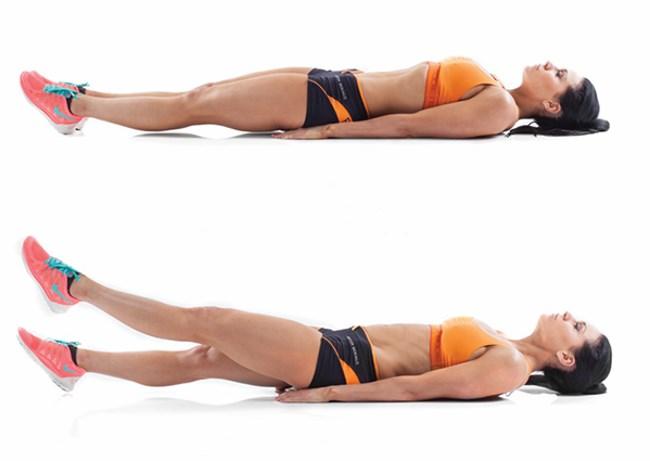 Упражнения, чтобы быстро убрать живот для женщин. Как эффективно похудеть в домашних условиях