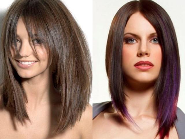 Стрижки женские на средние волосы 2019. Фото, вид спереди и сзади, причесок с челкой и без, для овального, круглого, квадратного лица