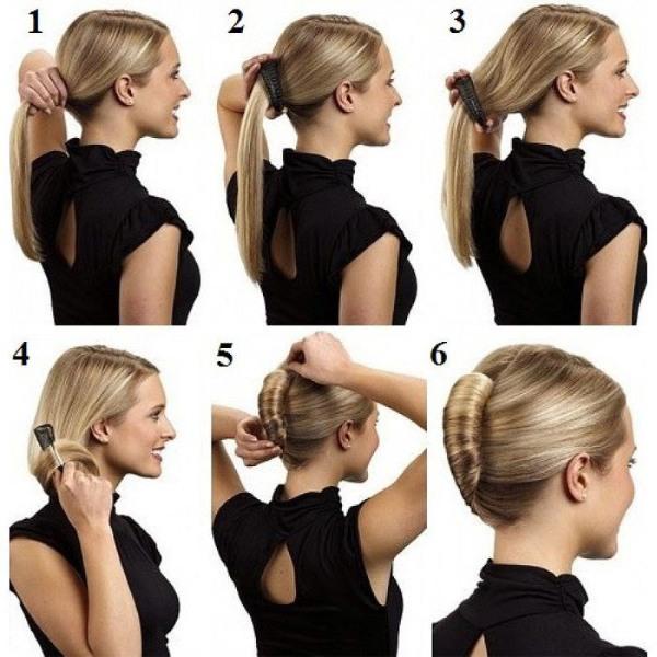 Красивые прически на средние волосы быстро и легко поэтапно своими руками. Фото