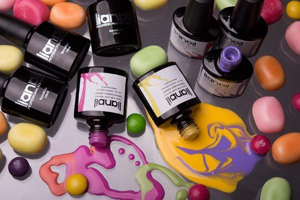 Гель лак на короткие ногти - новинки дизайна Блюскай, Кошачий глаз, Слайдеры, акварельная техника. Фото
