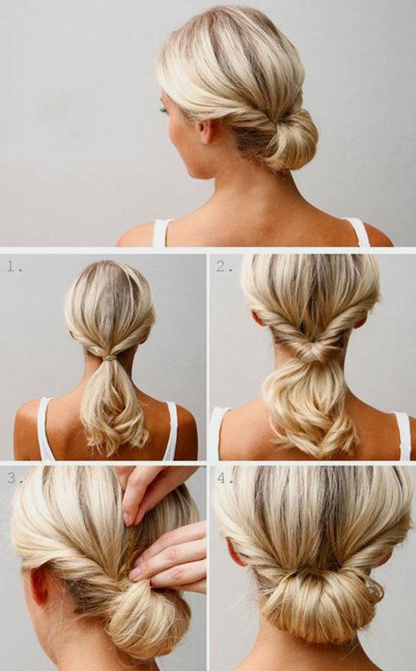 Прически на длинные волосы пошагово. Фото красивых простых стрижек с челкой и без, вечерние и свадебные