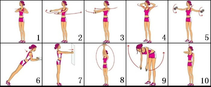 Как быстро накачать мышцы рук, грудины, спины, ног, предплечья, поясницы девушке с нуля