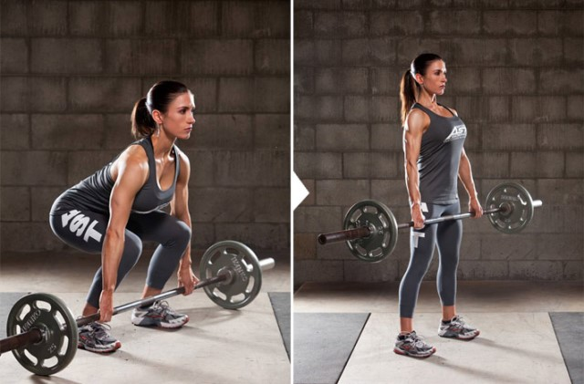 Упражнения для похудения живота боков и ляшек