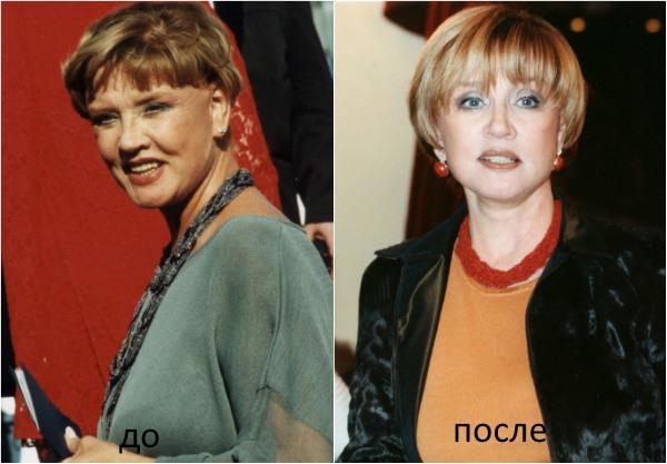 Вера Алентова – фото до и после пластики, как сейчас выглядит актриса, биография