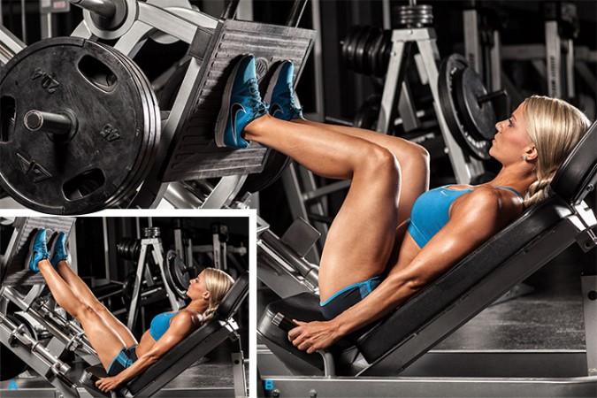 Программа тренировок для девушек в тренажерном зале. Упражнения для похудения и накачки мышц