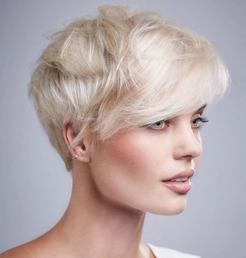 Модные ассиметричные стрижки на короткие волосы. Новинки 2019, фото, вид спереди и сзади