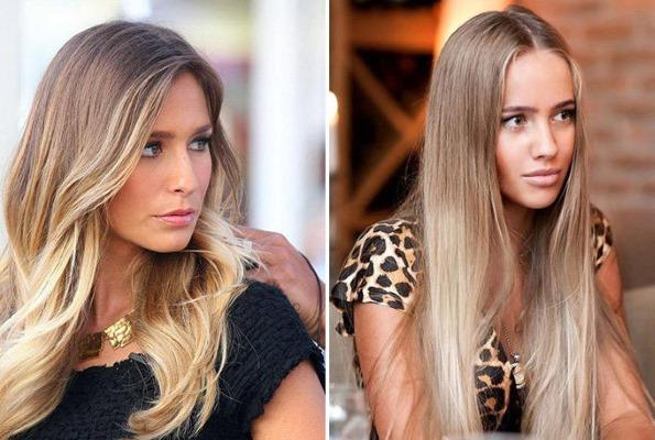 Колорирование волос на русые волосы средней, короткой, длинной длины. Как сделать самостоятельно дома, фото