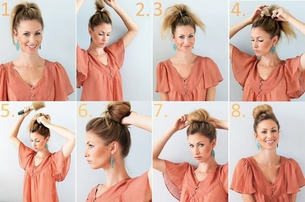 Красивые прическа на средние волосы – модные варианты, как сделать своими руками, фото