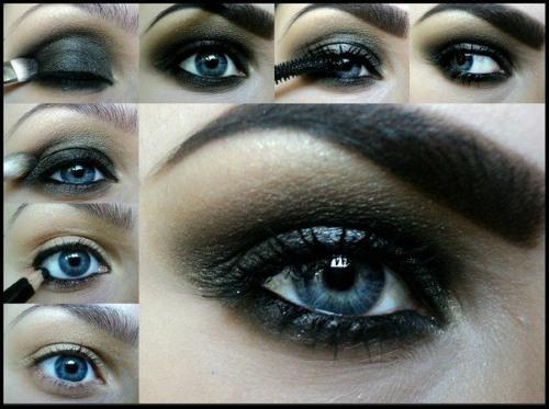 Макияж для голубых глаз и русых, светлых волос на каждый день и торжество. Пошаговая инструкция выполнения с фото