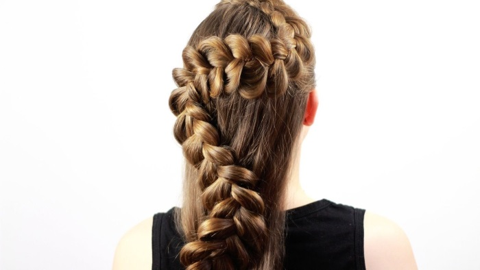 Плетение кос на длинные волосы – красивые, легкие и необычные варианты плетения локонов для девушек и девочек