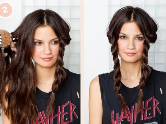 Прически на каждый день на длинные волосы. Как сделать своими руками, фото