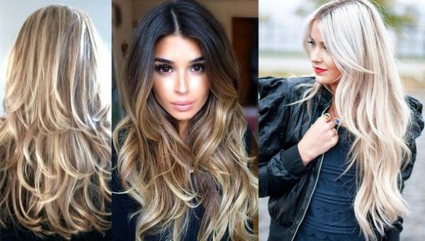 Модные и красивые женские стрижки на длинные волосы. Новинки 2019, фото