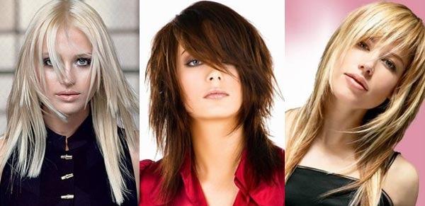 Стрижки с челкой на средние волосы 2019. Фото модных стрижек для круглого, овального, квадратного лица
