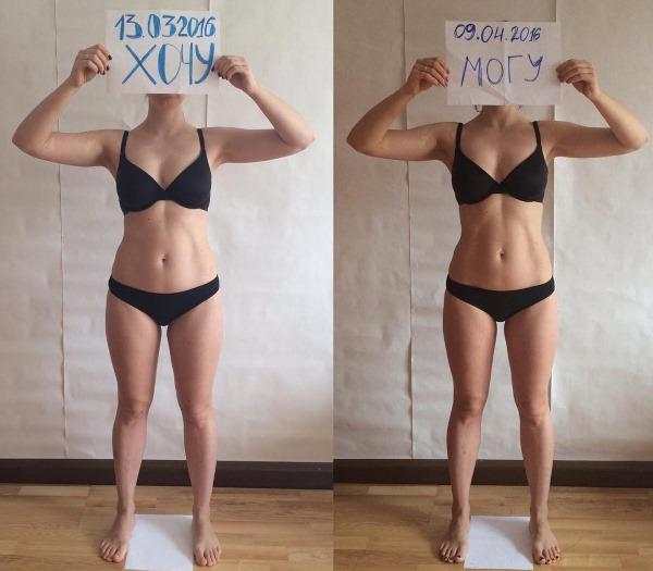 Меню при сушке тела для девушек, рацион питания на неделю