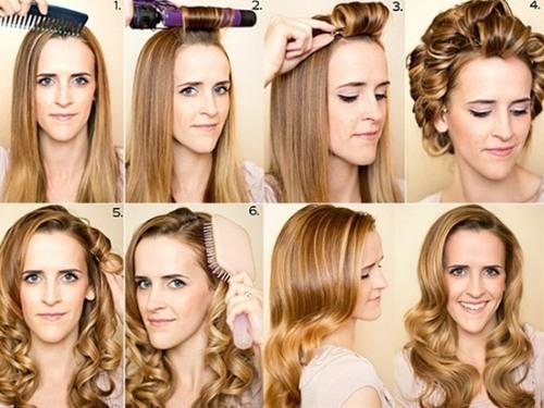 Укладка волос на длинные волосы. Топ – лучших причесок пошагово с фото, вид спереди и сзади