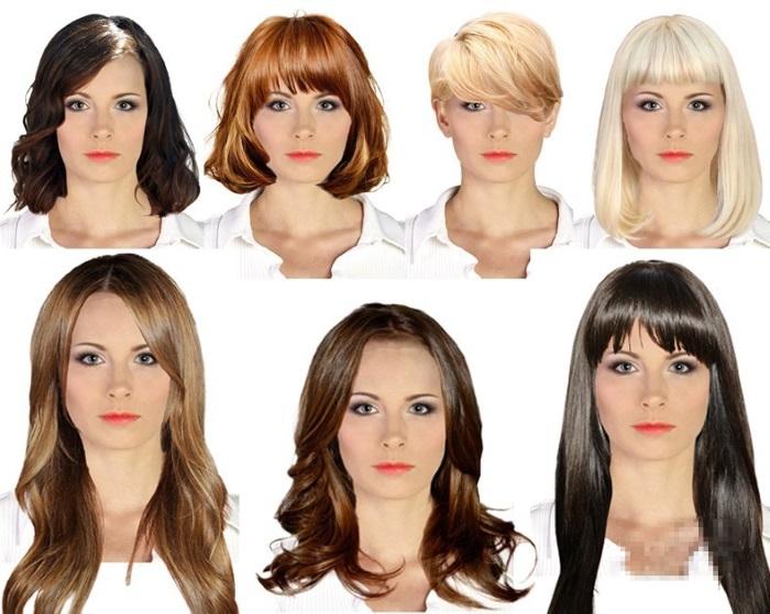 Женские стрижки на среднюю длину волос. Фото, названия, вид спереди и сзади