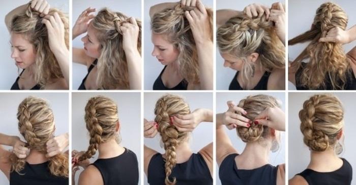 Красивые прически на длинные и средние волосы своими руками. Кому подходят, как делать. Пошаговые инструкции с фото и видео