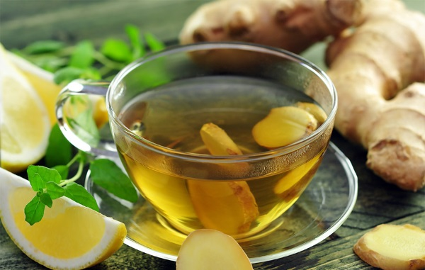 Чай с имбирный в домашних условиях 616