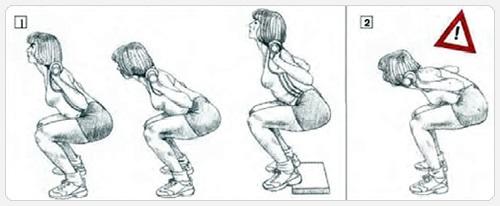 Как правильно приседать со штангой для девушек, чтобы накачать ягодицы. Польза, техника выполнения, приседания на тренажере
