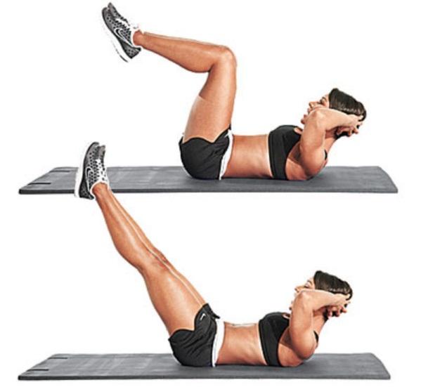 Упражнения для похудения ног и бедер за неделю для женщин с гантелями, утяжелителями, с резиновой лентой, фитбол