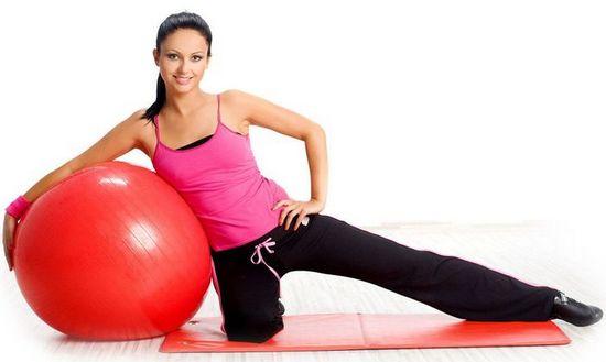 Фитбол упражнения для спины при грыже