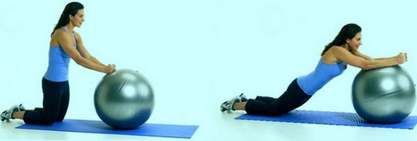 Упражнения для позвоночника на мяче по Бубновскому, при остеохондрозе и грыже поясничного отдела