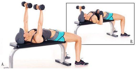 Упражнения для верхней части грудных мышц для женщин и мужчин дома и в спортзале. Как выполнять