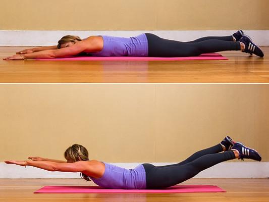 Упражнения на спину в тренажерном зале для девушек: базовые, лучшие, самые эффективные