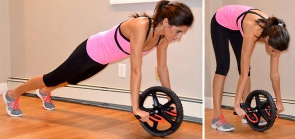 Упражнения с гимнастическим колесом для женщин. Польза после родов, при грыже позвоночника, остеохондрозе, противопоказания. Комплекс для начинающих