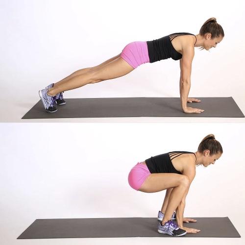 Берпи - техника выполнения, что это такое, как правильно делать. Упражнения для девушек новичков: бешеная сушка и похудение