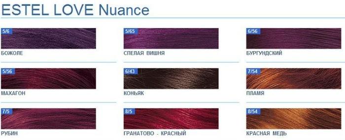 Эстель краска для волос: палитра Сильвер Делюкс, Принцесс Эссекс, Селебрити, безаммиачная. Инструкция по применению, отзывы