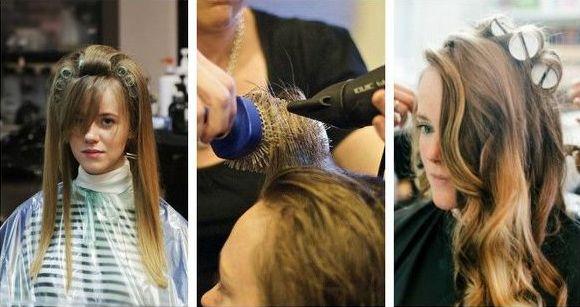 Как накрутить волосы на бигуди с палочкой, липучки, папильотки, спирали