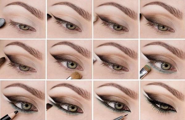 Как правильно и быстро нарисовать брови карандашом поэтапно фото
