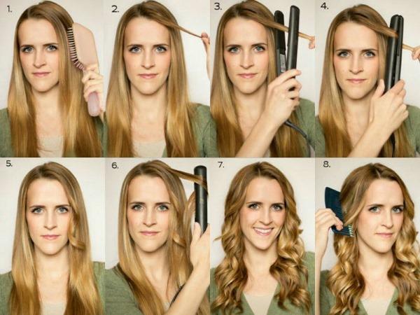 Быстрые прически на средние волосы за 5 минут. Как сделать пошагово своими руками