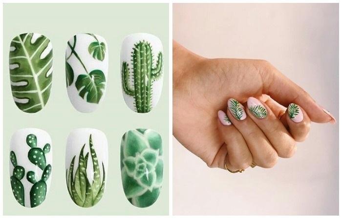 Дизайн маникюра на коротких ногтях гель лаком. Фото на зиму, весну, лето, осень 2019, темный маникюр, со стразами, блестками, акриловой пудрой, френч