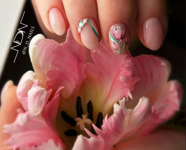 Дизайн ногтей гель лаком, фото. Новинки 2018 на короткие и длинные ногти: весна, лето, осень. Френч, красные, видео уроки для начинающих, пошагово