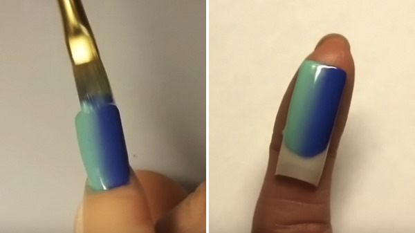 Градиент на ногтях гель лаком: фото, модные тенденции. Как подобрать цвет и сделать в домашних условиях губкой без пузырьков, кистью