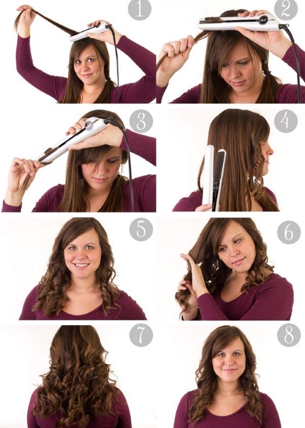 Как накрутить волосы утюжком для выпрямления с прямыми концами, фольгой, гофре. Укладки на короткие, средние, длинные волосы