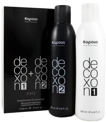 Краска для волос Капус с гиалуроновой кислотой. Палитра, фото до и после окрашивания. Инструкция по применению