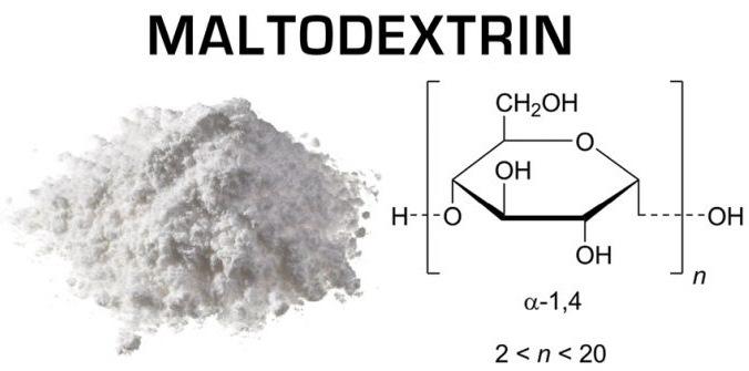Мальтодекстрин - что это такое, состав, польза и вред, сферы применения в медицине, диетологии, косметологии, спорте