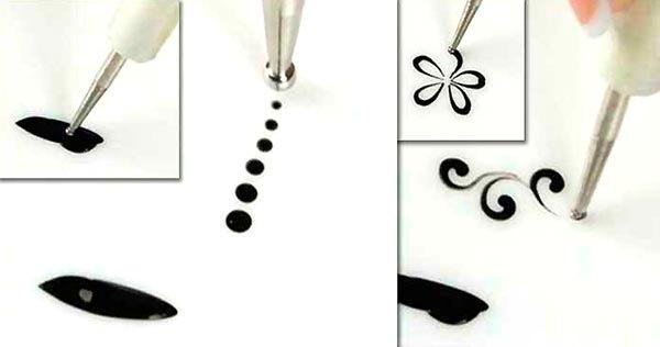 Маникюр на очень короткие ногти гель лаком, шеллаком. Новинки дизайна, фото