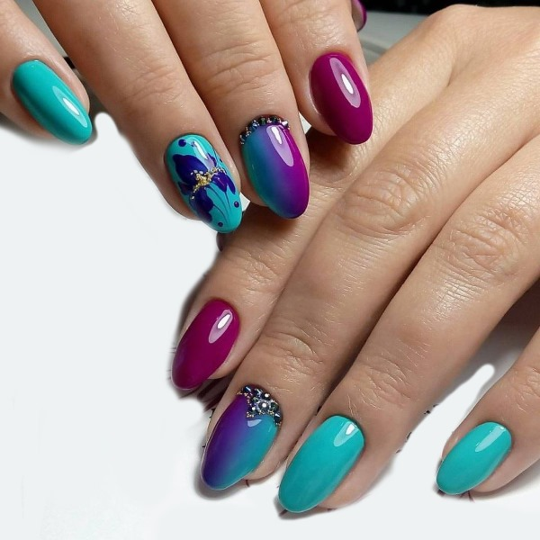 Маникюр на миндалевидные ногти 2019: лучшие идеи. Дизайн на весну, лето, осень, зиму