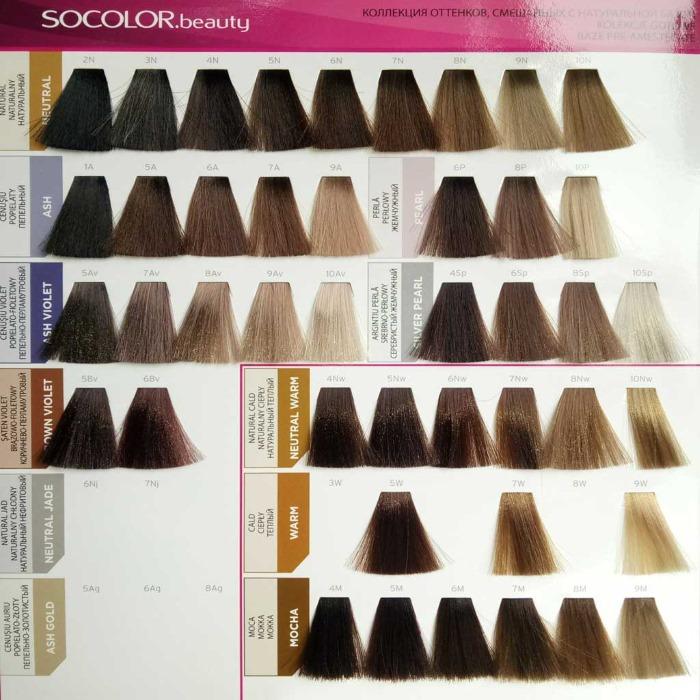 Краска для волос Матрикс профессиональная. Палитра цветов, фото на волосах. Отзывы